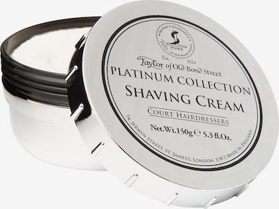 Taylor of Old Bond Street Rasiercreme 'Platinum Collection' in schwarz / silber, Produktansicht