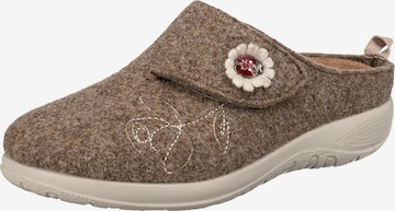 FLY FLOT Slippers in Brown