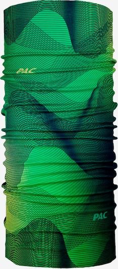 P.A.C. Sportschal in marine / gelb / grün, Produktansicht