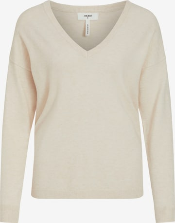 OBJECT Pullover 'OBJTHESS' in Beige