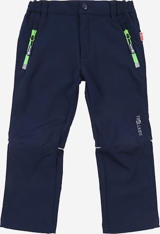 Pantalon d'extérieur 'Fjell' TROLLKIDS en bleu