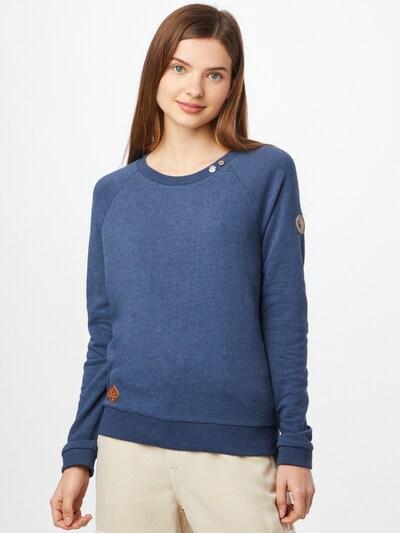 Ragwear Sweatshirt 'DARIL' in navy / karamell: Frontalansicht