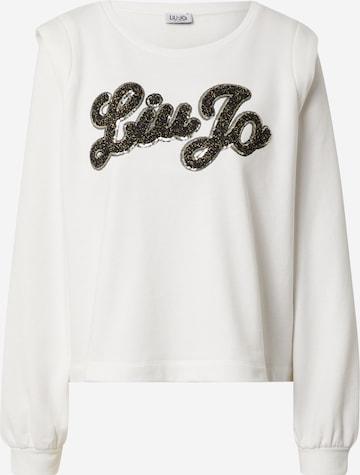 Sweat-shirt LIU JO JEANS en blanc