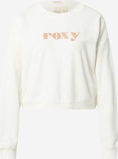 ROXY Sweatshirt 'BREAK AWAY' in de kleur Beige / Wit, Productweergave