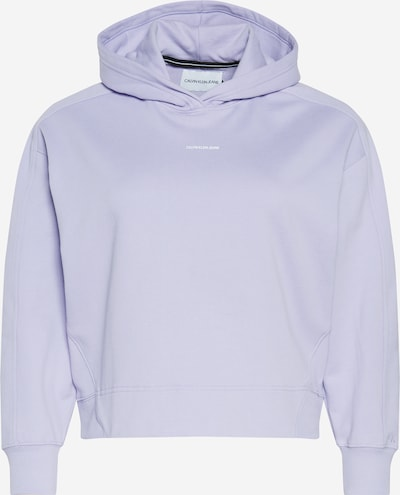 Calvin Klein Jeans Sudadera en malva / blanco, Vista del producto