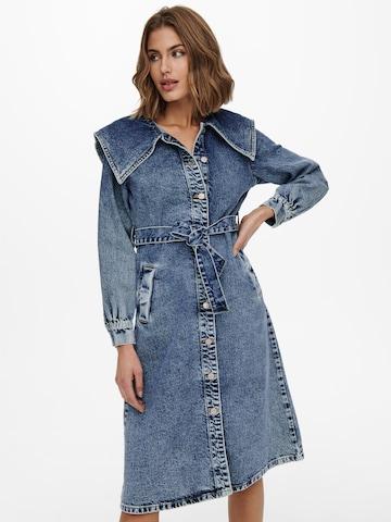 ONLY Kleid 'Inc' in Blau