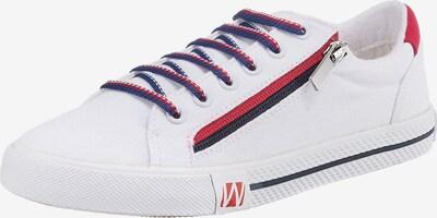 Westland Sneaker 'Sya' in navy / rot / schwarz / weiß, Produktansicht