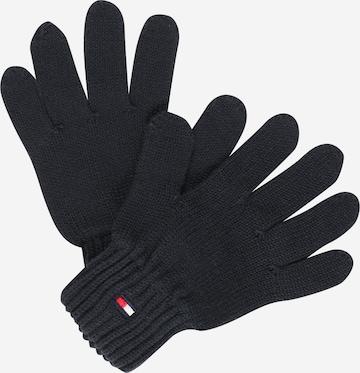 TOMMY HILFIGER Gloves in Blue