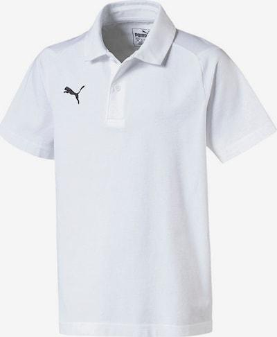 PUMA Poloshirt in weiß: Frontalansicht