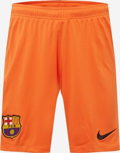 NIKE Sportshorts 'FC Barcelona 2021/22 Stadium' in blau / gelb / mandarine / rot, Produktansicht