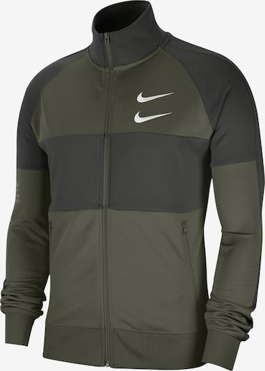 Nike Sportswear Jacke 'Swoosh' in oliv, Produktansicht