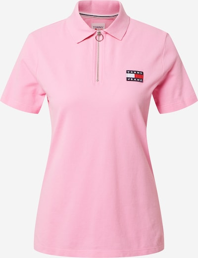 Tricou Tommy Jeans pe roz, Vizualizare produs