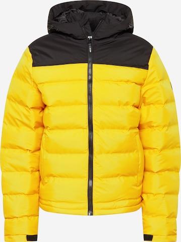 INDICODE JEANS Φθινοπωρινό και ανοιξιάτικο μπουφάν 'Eberhardy' σε κίτρινο