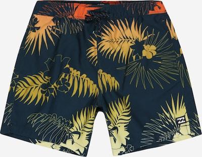 BILLABONG Sportovní plavky 'ALOHA' - béžová / námořnická modř / oranžová, Produkt