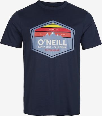 Maglietta 'Mtn Horizon' di O'NEILL in blu