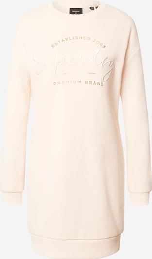 Superdry Robes en maille en rose clair, Vue avec produit