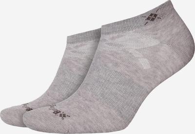 BURLINGTON Socken in grau: Frontalansicht