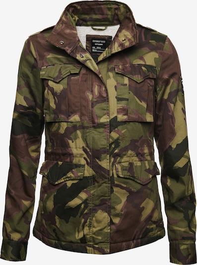Superdry Jacke 'Rookie' in marine / khaki / oliv / violettblau, Produktansicht