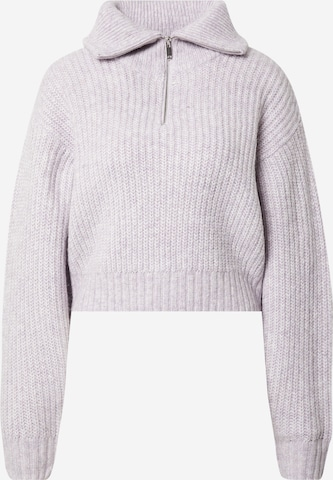 Gina Tricot Sweater 'Leslie' in Purple