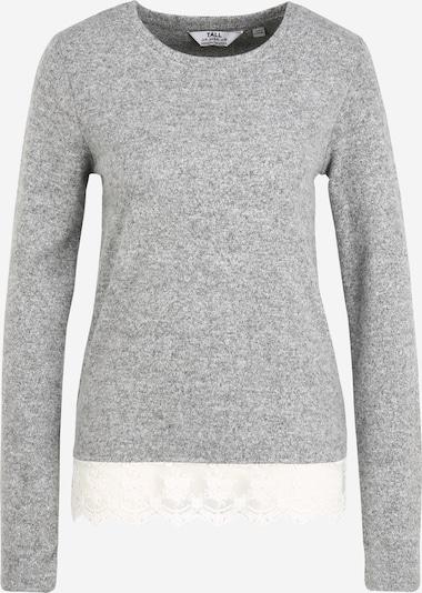 Dorothy Perkins (Tall) Shirt in de kleur Grijs gemêleerd / Wit, Productweergave