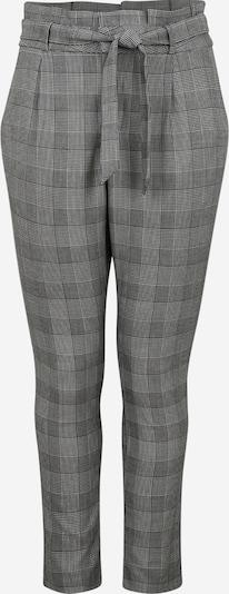 Vero Moda Curve Bandplooibroek in de kleur Zwart / Wit, Productweergave