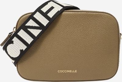 Coccinelle Umhängetasche 'TEBE' in khaki / schwarz / weiß, Produktansicht