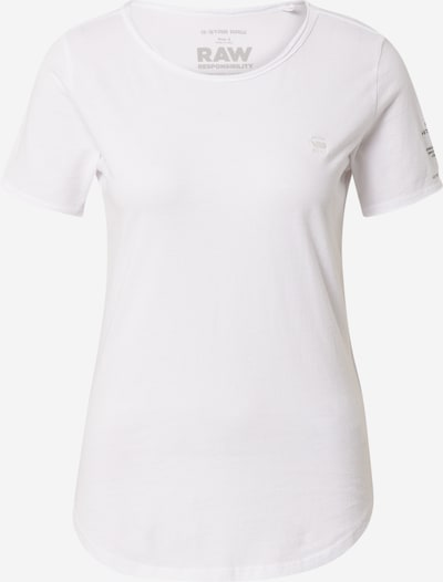 G-Star RAW T-shirt 'Mysid' en blanc, Vue avec produit
