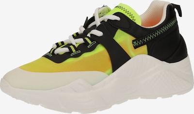 STEVE MADDEN Sneaker in gelb / schwarz / weiß, Produktansicht