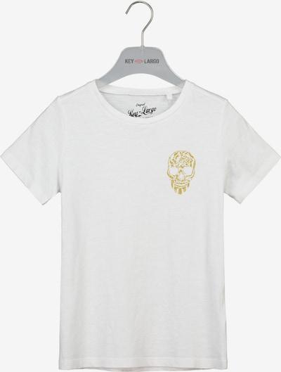 Key Largo T-Shirt 'BT BRONCO' in weiß, Produktansicht