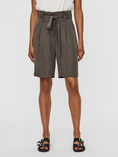 VERO MODA Shorts 'VIVIAN ANEVE' in khaki, Modelansicht