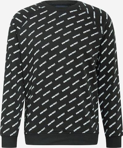 Denim Project Bluzka sportowa w kolorze czarny / białym, Podgląd produktu