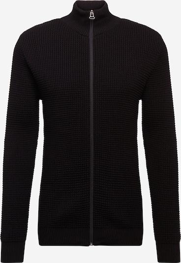 Kronstadt Gebreid vest 'Abel' in de kleur Zwart, Productweergave