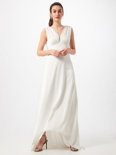 Rochie de seară 'Ida' Y.A.S pe alb, Vizualizare model