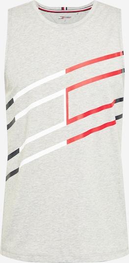 Tommy Sport Toiminnallinen paita värissä laivastonsininen / vaaleanharmaa / punainen / valkoinen, Tuotenäkymä