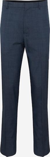 Kelnės su kantu 'JASPE' iš BURTON MENSWEAR LONDON , spalva - tamsiai mėlyna jūros spalva / melsvai pilka, Prekių apžvalga
