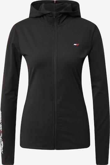Bluză cu fermoar sport Tommy Sport pe negru, Vizualizare produs