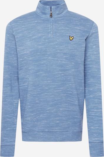 Lyle & Scott Sweatshirt in mottled blue, Item view
