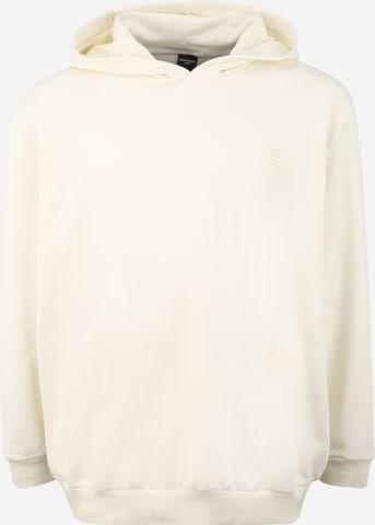 Sweat-shirt 'BLASTUDIO' Jack & Jones Plus en beige