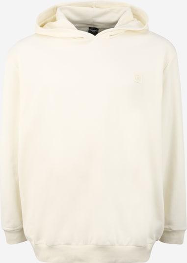 Jack & Jones Plus Sweat-shirt 'BLASTUDIO' en crème, Vue avec produit