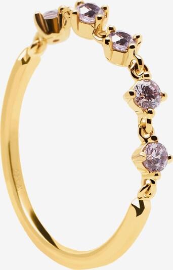 P D PAOLA Sõrmus 'Victoria' Kuld / lilla, Tootevaade