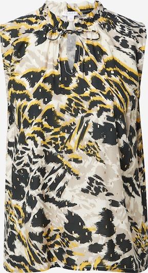 Claire Top 'Rhime' in gelb / greige / schwarz / weiß, Produktansicht