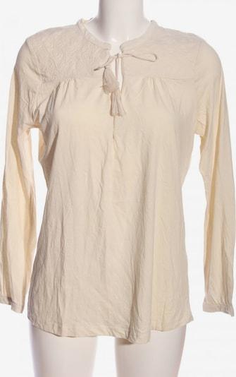 Sfera Langarm-Bluse in M in creme, Produktansicht