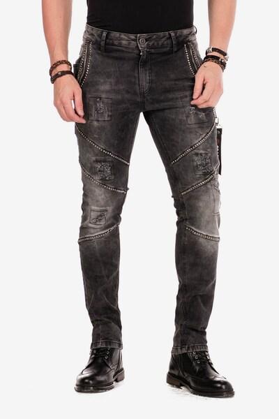 CIPO & BAXX Jeans 'Vortex' in schwarz, Modelansicht