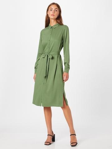 Abito camicia 'DANIA' di VILA in verde