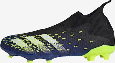 Ghete de fotbal 'Predator Freak.3' ADIDAS PERFORMANCE pe bleumarin / galben neon / negru / alb, Vizualizare produs
