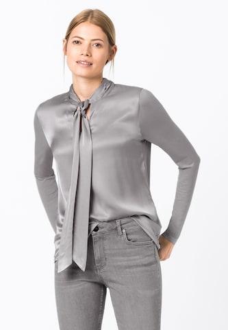 HALLHUBER Bluse in Grau