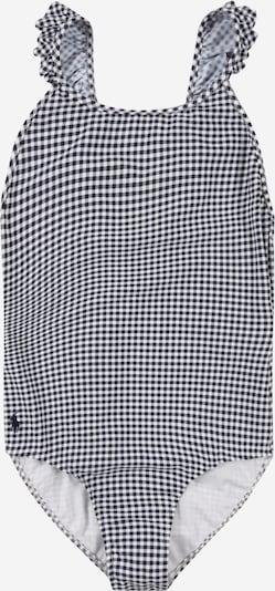 POLO RALPH LAUREN Badeanzug 'GINGHAM' in navy / weiß, Produktansicht
