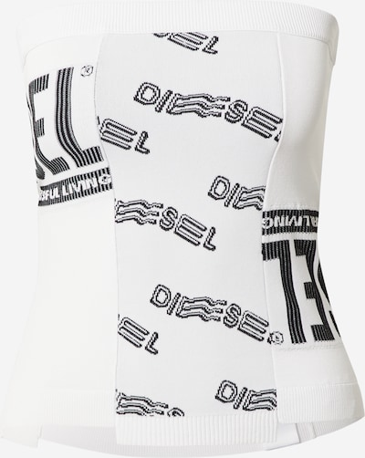 DIESEL Top in Black / White, Item view