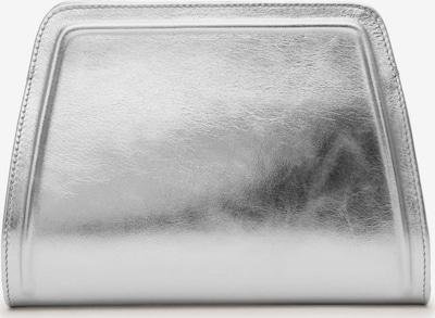 Gretchen Abendtasche 'Lyra Clutch Two' in silber, Produktansicht