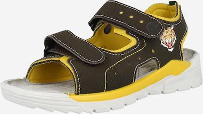 RICOSTA Vaļējas kurpes 'Surf' dzeltens / olīvzaļš / oranžs / meloņu / balts, Preces skats
